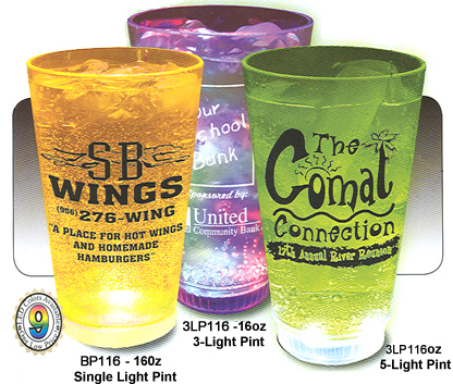 16oz Blinking and Lighted Cups