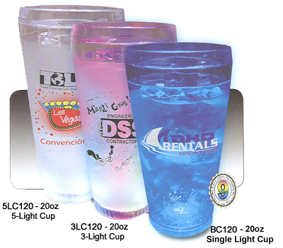 20oz Blinking and Lighted Cups