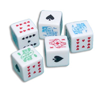 5/8 inch Poker Dice Set