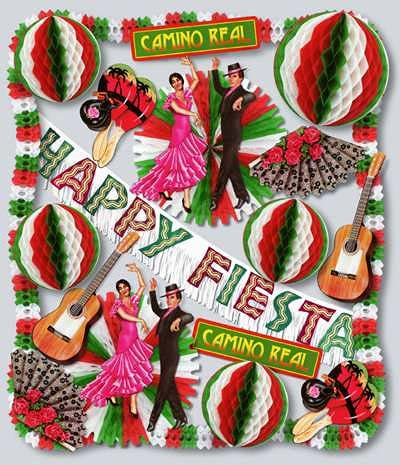 Fiesta Theme Decorating Kit