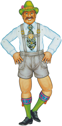 Mr. Oktoberfest Jointed Cutout