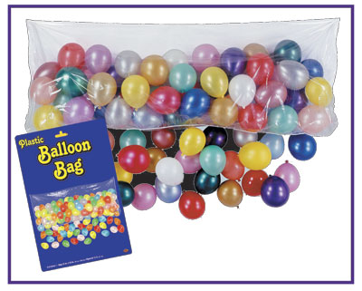 The Plastic Balloon Bag Drop