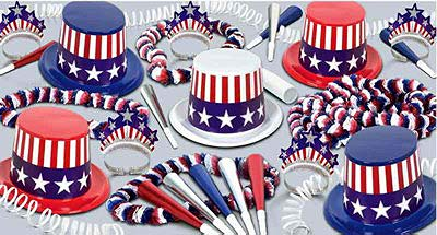 Spirit of America Party Kit for 50