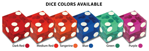 Bee Casino Dice Colors