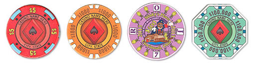 Ceramic Casino Poker Chips