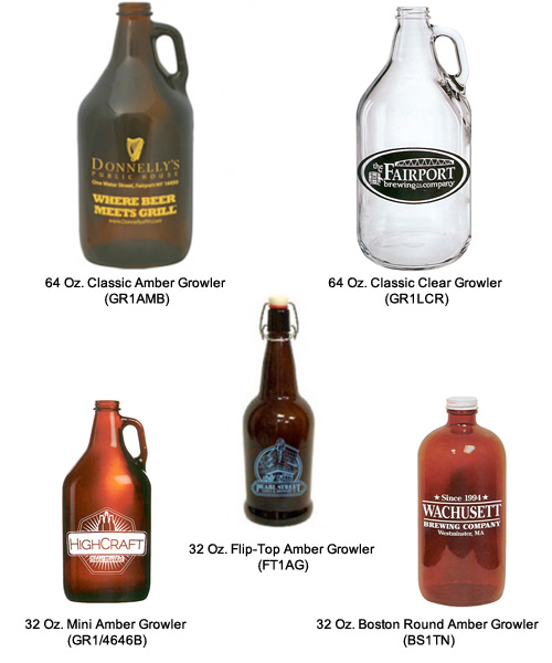 Custom Growlers for Beer