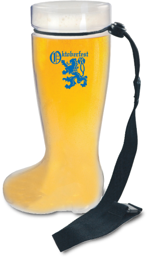 1L German Boot Mugs