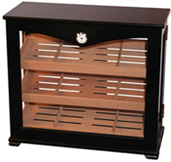 150-Cigar Display Humidor: Front View