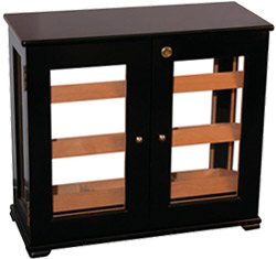 150-Cigar Display Humidor: Rear View