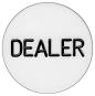 Brushed Steel Dealer Button