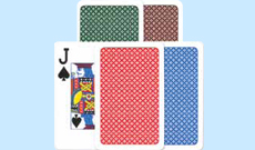 A+ (A Plus) Plastic Playing Cards