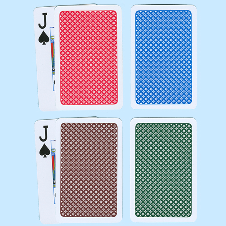 A+ (A Plus) Plastic Playing Cards Narrow, Regular Index