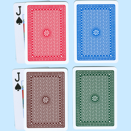A+ (A Plus) Plastic Playing Cards Poker, Regular Index