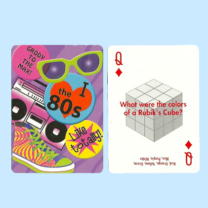Bicycle Decades 80's Playing Cards