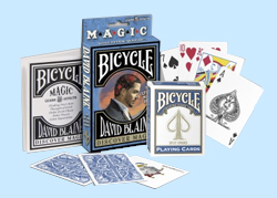 David Blaine Discover Magic Deck
