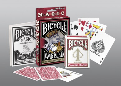 Bicycle David Blaine Magic Transformation Deck