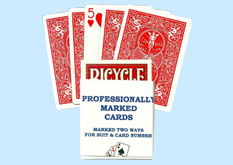 Bicycle Professionally Marked Playing Cards