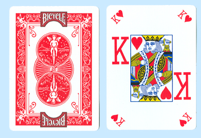 Bicycle Pro Poker Peek Playing Cards