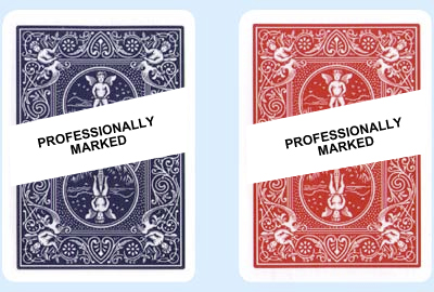 marked bicycle playing cards