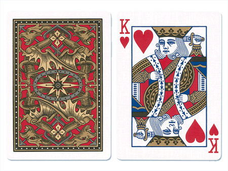 Bicycle Blue Dragon Playing Cards
