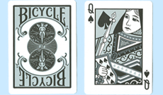 Bicycle Black and Silver Playing Cards