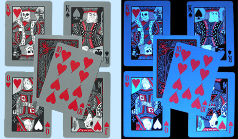 Bicycle Tragic Royalty Glow in the Dark Playing Cards