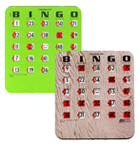 Bingo Finger-Tip Slide Cards