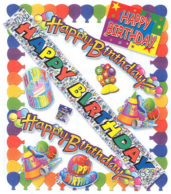 birthday party decorations pictures. Birthday Party Kit