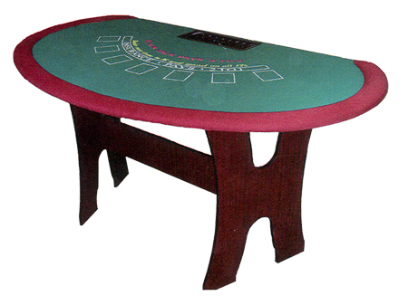 Folding Blackjack Table BJ7210