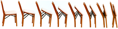 Bridge Chairs Folding Example