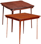Solid Wood Top Bridge Tables