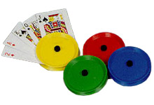 Round Playing Card Holders