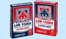 Cartamundi Low Vision Playing Cards