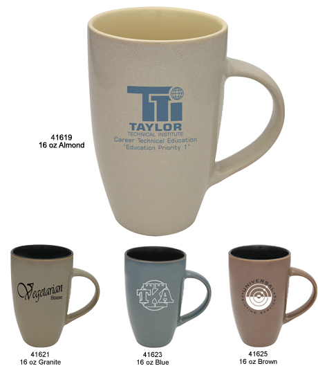 Ceramic Coffee Mug Tranquil Collection
