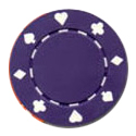 11.5 Gram Card Suits Casino Chips