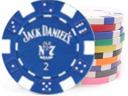 Clay Composite Dice Poker Chips