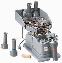 Coin Counter Wrapper and Bagger