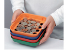 Money and Coin Counting Trays