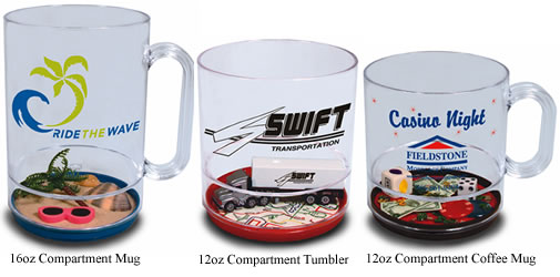 Compartment Mugs and Cups