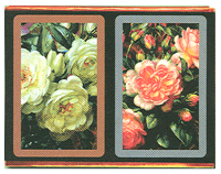Congress Playing Cards Cabbage Roses