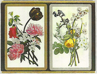 Congress Playing Cards Floral Bouquet