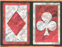 Congress Red Marble Cards