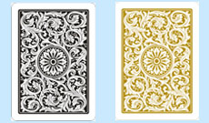 Copag 1546 Plastic Playing Cards Black/Gold