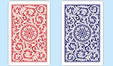 Copag 1546 Plastic Playing Cards Red/Blue