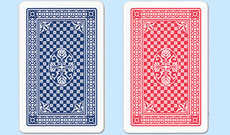 New Copag Casino Red and Blue