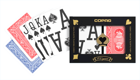 Copag Magnum Poker Size, Magnum Index Plastic Playing Cards
