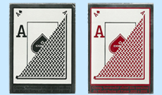 Copag Texas Holdem Plastic Playing Cards Poker Peek Black and Red