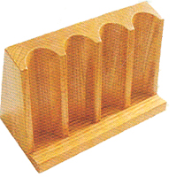 Upright Chip Racks 140 Chip Capacity (Wood)