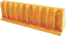 Upright Chip Racks 350 Chip Capacity (Wood)