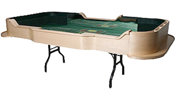 Folding Craps Tables
